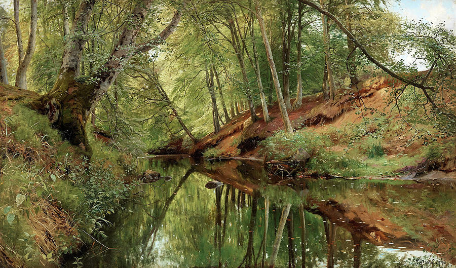 the-river-in-saeby-skov-peder-mork-monsted