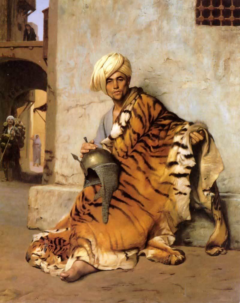 jean-leon-gerome-marchand-de-peaux-1869