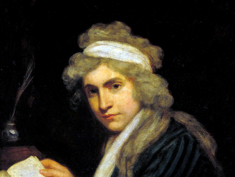 Mary Wollstonecraft (Mrs William Godwin) c.1790-1 by John Opie 1761-1807