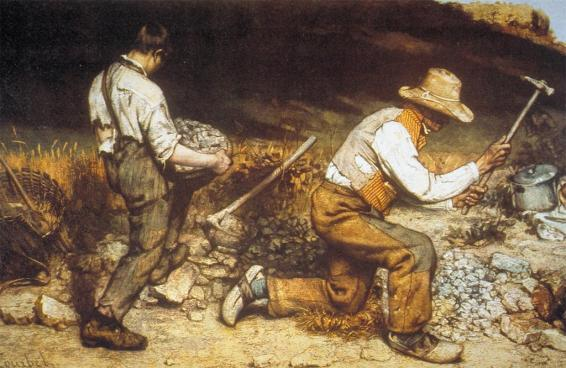 Courbet stone breakers