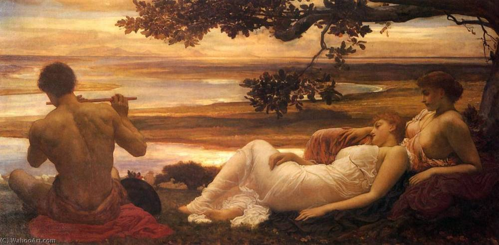 Sir-Frederic-Lord-Leighton-English-Idyll