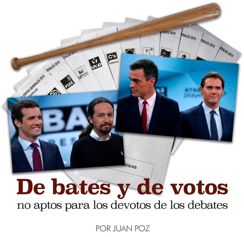 Debates y votos