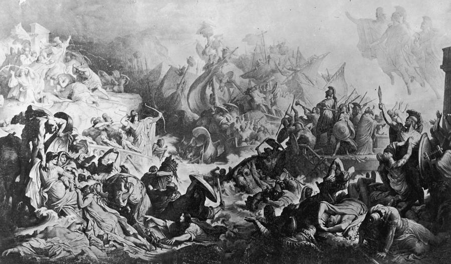 battle-of-salamis-hulton-archive
