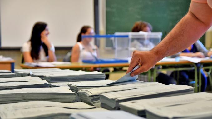 Constituidas el cien por cien de las mesas electorales andaluzas