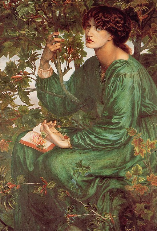 Dante-Gabriel-Rossetti-The-Daydream,-De