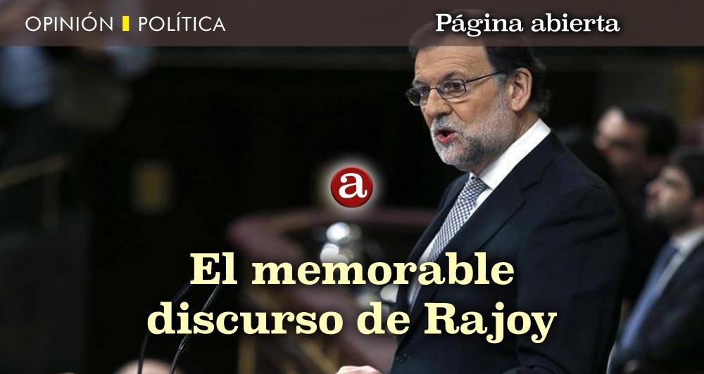 Discurso de Rajoy