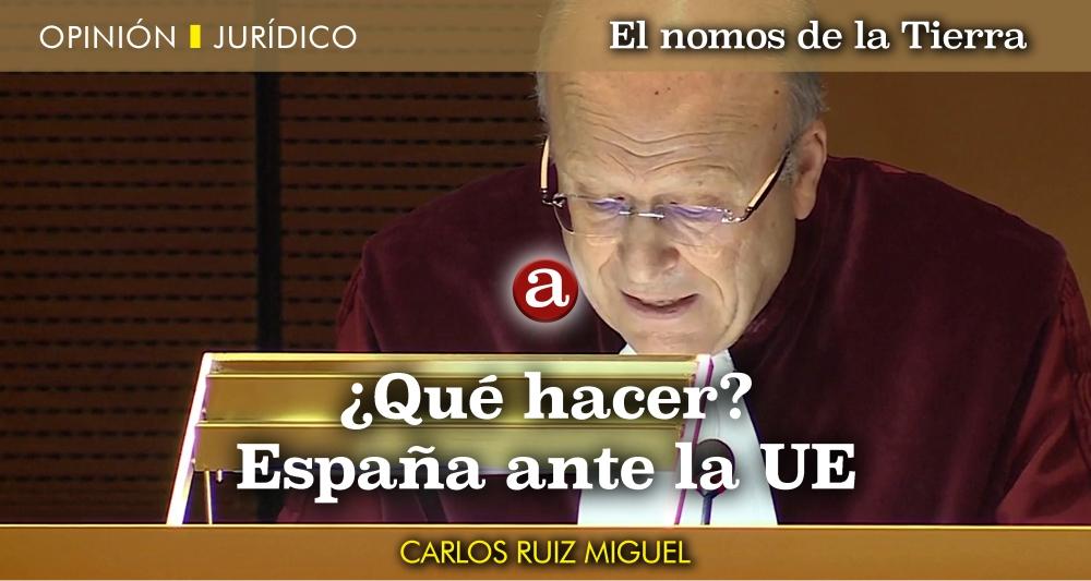 España ante UE