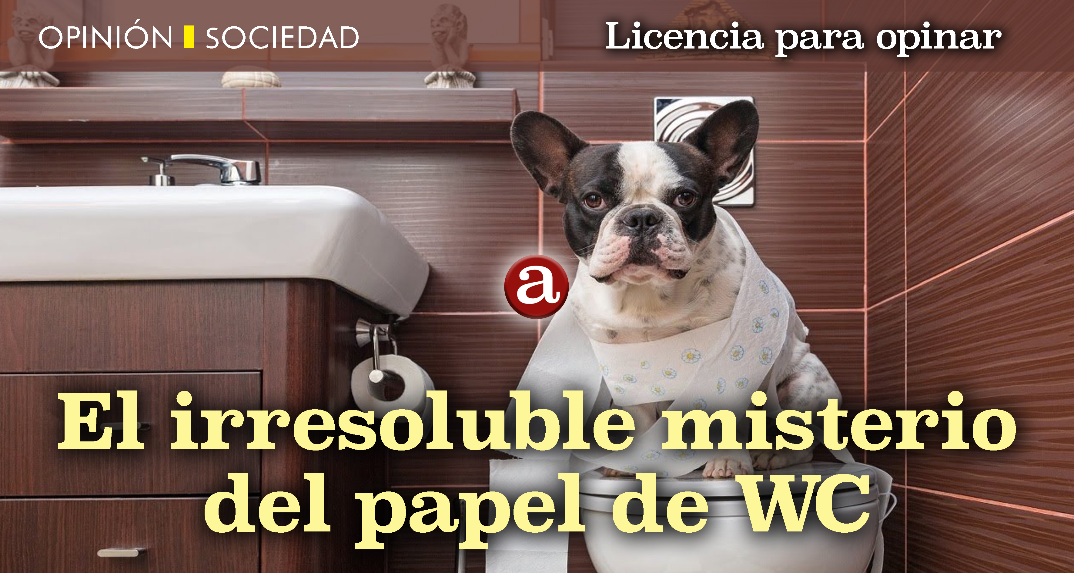 Misterio papel WC
