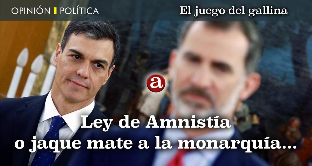Amnistía o fin monarquía
